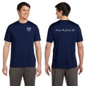 100% POLY PERFORMANCE T-SHIRT NAVY